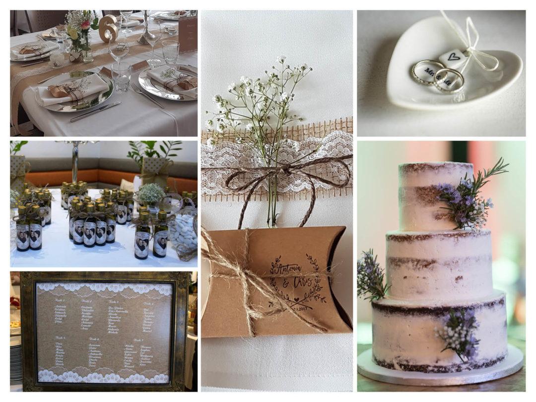 Vintage hochzeitsdeko herzenswerk for Hochzeitsdeko vintage